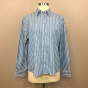 Land's End Button Down Classic Shirt